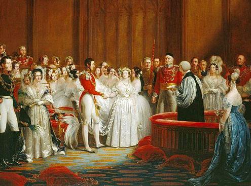 Svatba královny Viktorie a Alberta ze Saxu